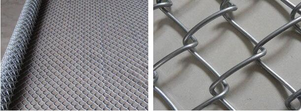 Galvanized Chain Link Fence1